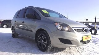 2011 Opel Zafira B 1.6 MT. Обзор (интерьер, экстерьер, двигатель).. MegaRetr