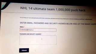 NHL 14 FREE PUCKS HACK