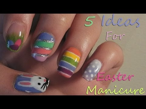 5 Ideas For Easter Manicure