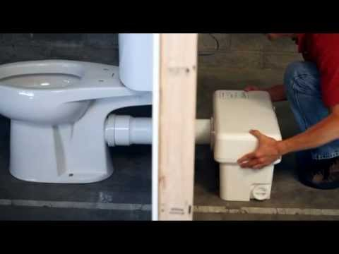 Ascent Ii Macerating Toilet By Liberty Pumps Youtube