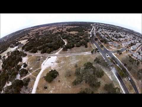 Winter Flying - after Austin ice storm January 24, 2014