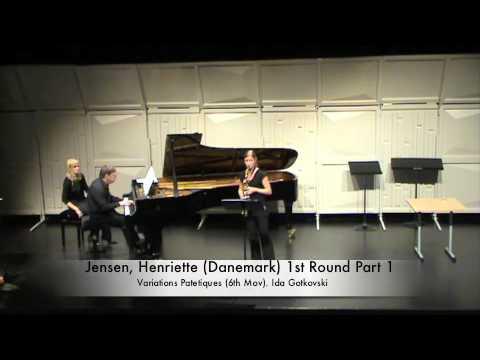 Jensen, Henriette Danemark 1st Round Part 1