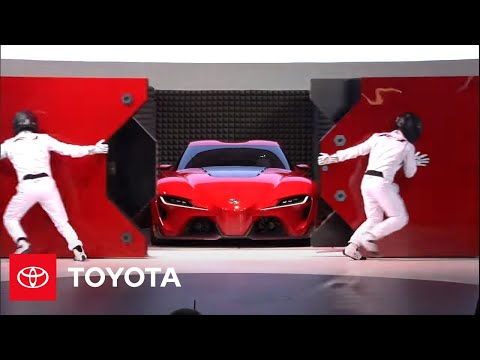 Toyota FT-1 Concept Reveal: 2014 NAIAS