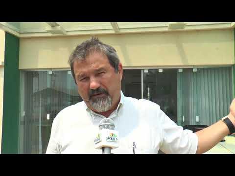 Prefeito Francis Maris Cruz fala sobre as obras que estão sendo realizadas em Cáceres
