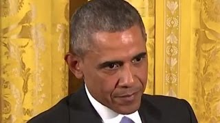 Obama Scolds Reporter For Stupid Question