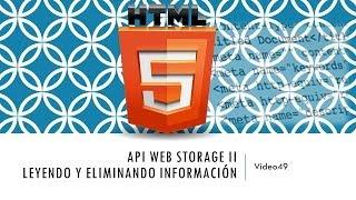 Curso de HTML 5. Parte 49