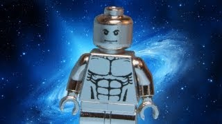 Custom Chrome Silver Surfer LEGO Marvel Super Hero