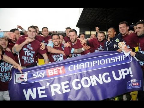 Burnley get Promotion and Pitch Invasion 2014 VS Wigan