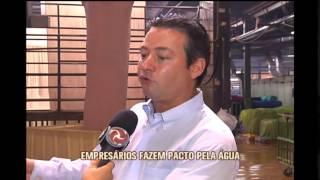 Pacto de Minas pelas �guas � entregue a Fernando Pimentel