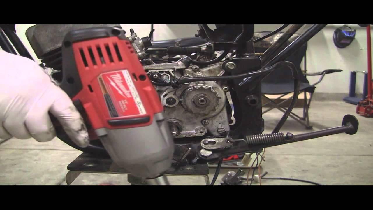 Yamaha Dt80 Enduro Parts Bike Part 5 Parting Out A