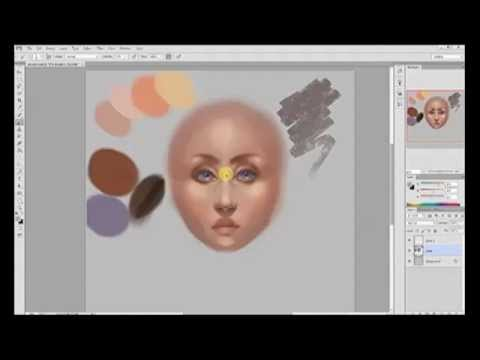How to Paint Skin Realistically (Using a Face)