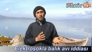 Salihli'de elektroşokla balık katliamı