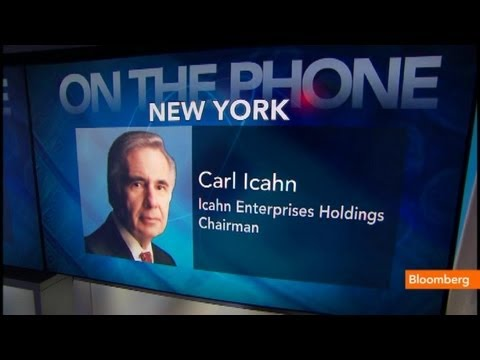 Icahn: Apple `Undervalued,' Look at the Numbers