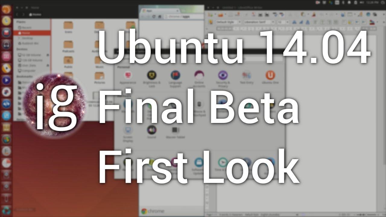 Ubuntu baru-baru ini merilis versi final beta terbaru yakni LTS 14.04. Secara umum penampilan memang baru namun Icons-icons masih belum berubah seperti versi sebelumnya. Simak Video review nya