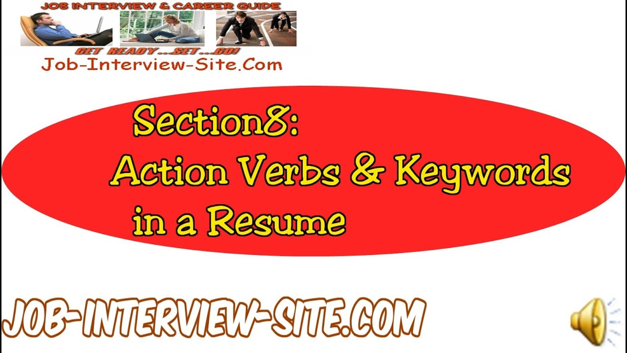 Resume Action Verbs & Keywords Using Action Verbs and