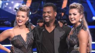 Alfonso Ribeiro & Witney - PasoDoble / Lindsay - DWTS - Week 9