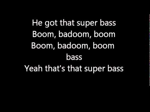 Nicki Minaj - Super Bass (Lyrics)