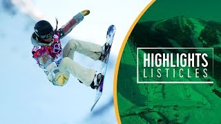 Top 5 Women's Snowboard Halfpipe | Highlights Listicles