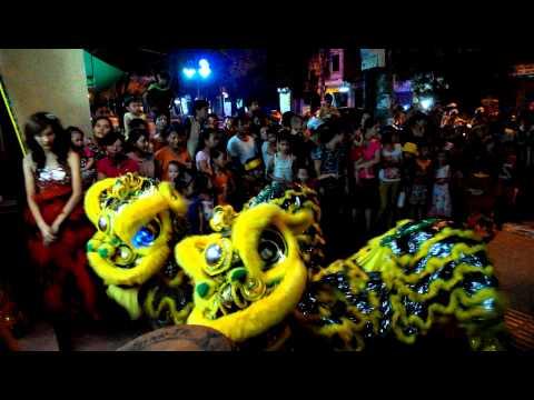 Múa kỳ lân - Trung thu 2014 - Hải Phòng