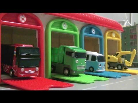 Tayo Thel Little Bus Garage Toys 꼬마버스 타요 차고지 장난감