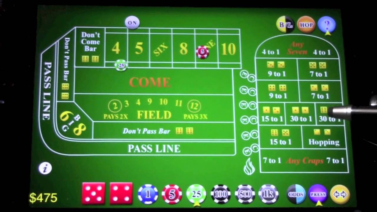 Play Online Craps for Free or Real Money