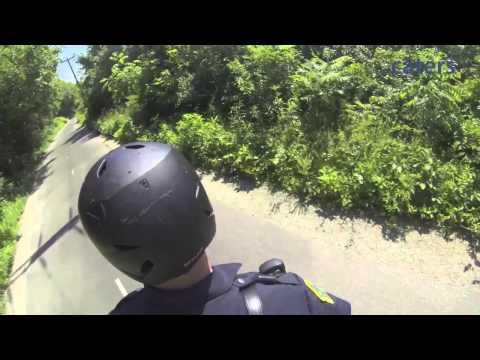Green Bay's Skating Cop