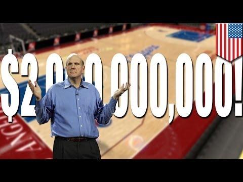Steve Ballmer, ex CEO de Microsoft compra a los LA Clippers por dos mil millones de dólares