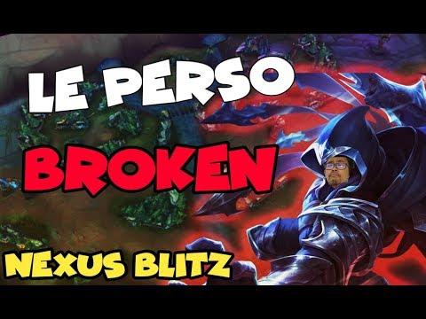 Perso broken du nouveau mode de jeu de LoL ?! - Nexus Blitz Gameplay League of Legends