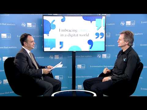 Jon Fredrik Baksaas, CEO, Telenor - Interview ITU Telecom World 2013