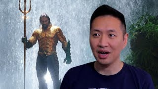 Aquaman Extended Video Trailer Reaction