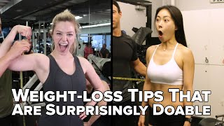 Weight-Loss Tips That You Can Actually Stick To