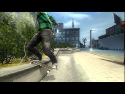 Shaun White Skateboarding Gameplay