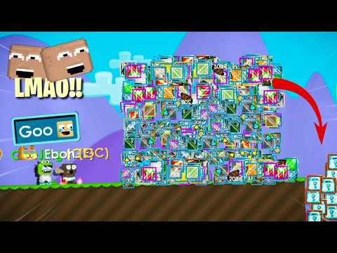 JUMP to the TRASH Got WLs | Growtopia Funny