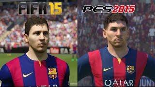 FIFA 15 VS PES 2015 PS4 GAMEPLAY 1080P