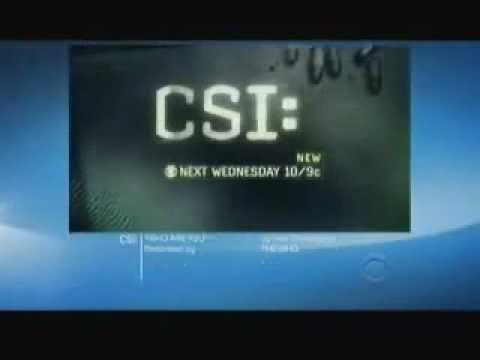 CSI 13x03 Preview