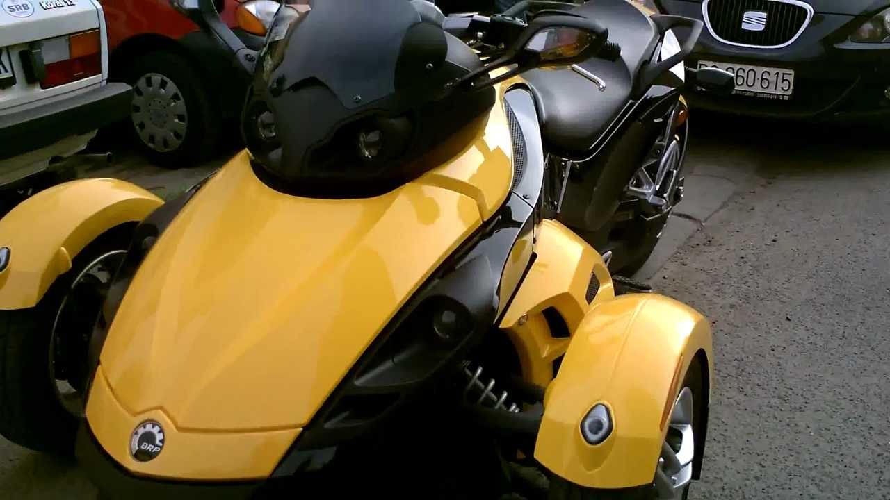 Motor can am spyder 990 cc youtube for Can am spyder motor