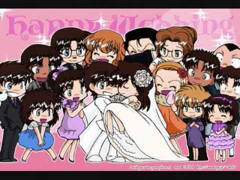 Shinichi and Ran, Heiji and Kazuha, and Kaito and Aoko- I Just Called to Say I Love You