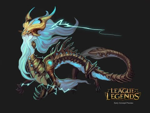 New Champion Ao Shin, BattleCast Skarner & Warwick Visual Update (LoL / League of Legends)