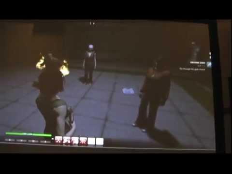 Демо-геймплей первой миссии (camrip)