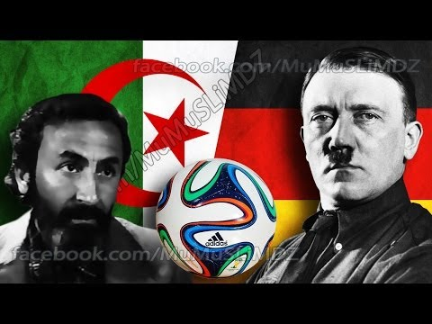 Algeria vs Germany World Cup 2014-Algérie vs Allemagne-Algerien vs Deutschland-الجزائر ضد ألمانيا