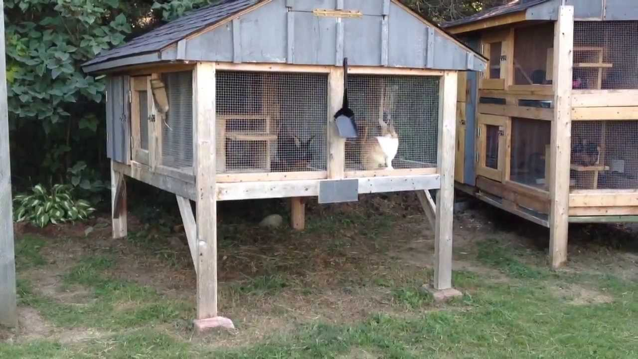 How To Build A Rabbit Hutch Update Youtube