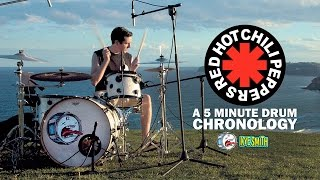 Red Hot Chili Peppers: A 5 Minute Drum Chronology by Kye Smith