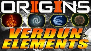 "Black Ops 2 Zombies: ""Origins"" Elemental Theme Easter Egg Verdun, France - Map Theories/Observations"