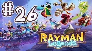 Rayman Legends Let's Play   #26 - Creepy Castle