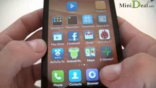 Hands On Xiaomi HongMi/RedMi 1S(WCDMA) Snapdragon Msm8228
