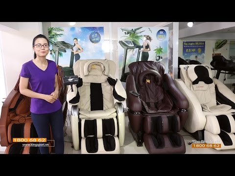 Ghế massage KINGSPORT bán chạy nhất Việt Nam - Freecall: 18006862
