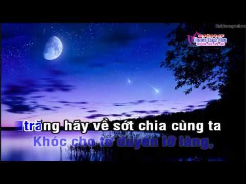 Karaoke vọng cổ TRĂNG HÀN MẶC TỬ - KÉP