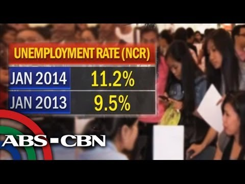 More people have no jobs in Metro Manila
