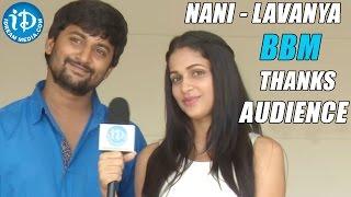 Nani, Lavanya Thanks Audience