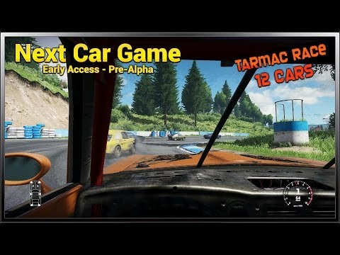 Next Car Game (FlatOut 4) - Early Access Gameplay - Tarmac Race